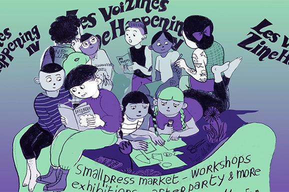 Les VoiZines – Zine Happening IV in het MIAT