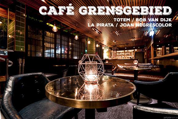 Café Grensgebied #02: Bob Van Dijk en Joan Negrescolor