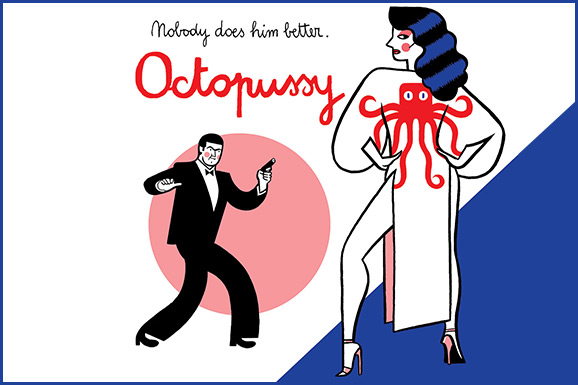 Octopussy in 007 pages