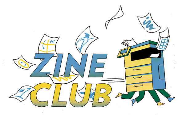Zine Club in Muntpunt