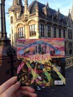 Use-It kaart van Gent