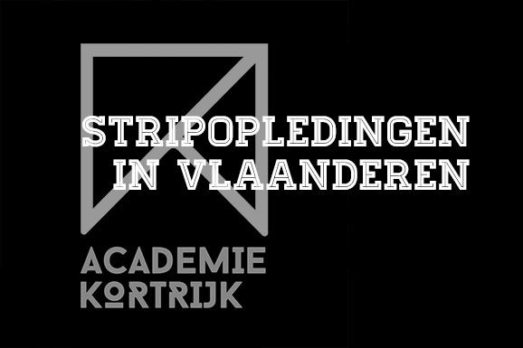 Stripopleidingen in Vlaanderen: Academie Kortrijk