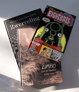 Limbo (Stephan Louwes) - Eightball (Daniel Clowes) - Zwerveling (Peter Van den Ende)