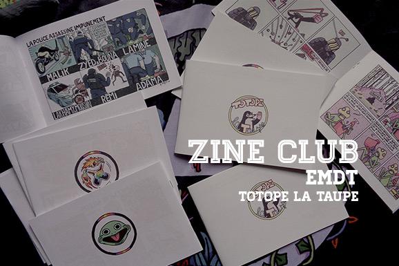 Zine Club #09: Totope la Taupe (door EMDT)