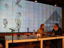 Maureen van der Hout pitcht Darwin in de straat