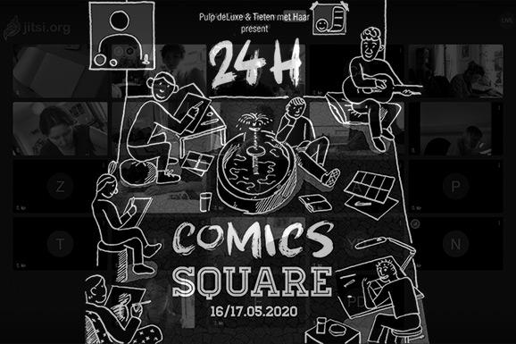 24h Comics Square: het verslag