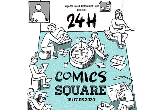 Schrijf je in voor de 24h Comics Square (Open Call)