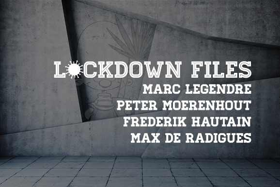Lockdown Files (14): Marc Legendre, Peter Moerenhout, Frederik Hautain en Max de Radiguès