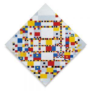 Victory Boogie Woogie, Piet Mondrian