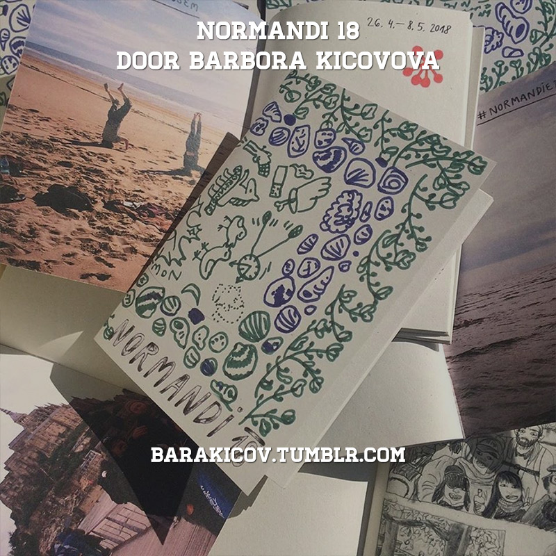 Zine Club #10: Normandi 18 (door Barbora Kicovova)