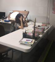 Panic Lab Studio: Ik kan de drama niet verbergen vanwege de glazen wanden