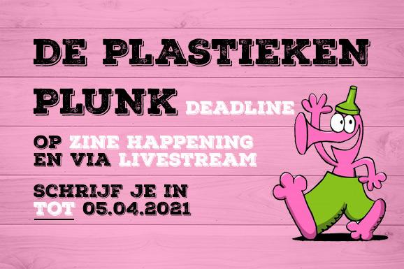De Plastieken Plunk deadline over vijf dagen