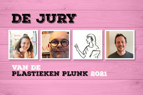 De jury van de Plastieken Plunk 2021