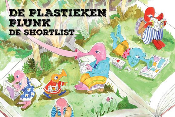 Plastieken Plunk: De Shortlist en de affiche