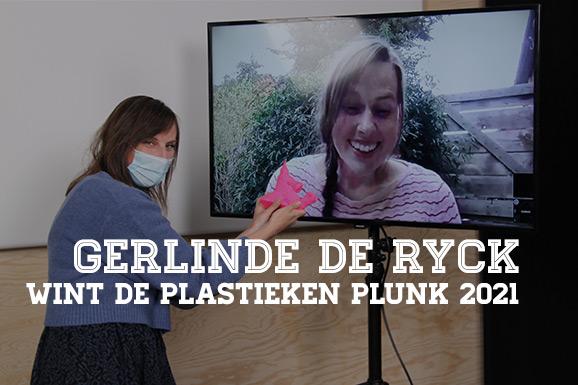 Gerlinde De Ryck wint de Plastieken Plunk 2021, ook pietra publications en Ravian vallen in de prijzen