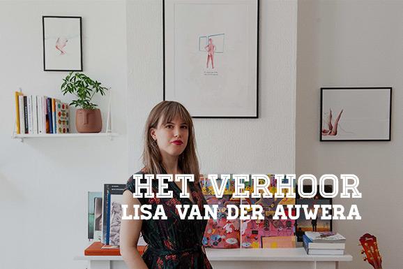 Het Verhoor: Lisa Van der Auwera